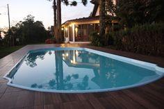 Foto de Pousada Vollweiter em  Guarapuava/PR:  Piscina Termica Construction, Outdoor Decor, Home Decor, Swiming Pool, Pictures, Building, Decoration Home, Room Decor, Home Interior Design