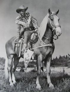Roy Rogers and Trigger. What a great role model he was.  Happy Trails to you Dale, Roy and Trigger. You made my childhood adventurous.