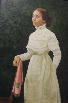 Portrait of Nellie Quander by Carmen Torruella Quander (I purchased a poster of this at Centennial Boule.)