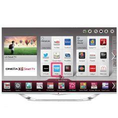 LG 55LA740S Full Hd 3D Led Smart Tv Cinema screen oluşu ile çerçevesiz yapısı sayesinde kendinizi sinema salonunda gibi hissedeceğiniz bu televizyon, Smart özelliği ile de size bir çok imkan sunuyor. İnternete girerek çoğu işlerinizi halledebileceğiniz gibi çevrimiçi uygulamaları gezinebilir, sosyal ağlarda dolanabilirsiniz. http://www.beyazesyamerkezi.com/LG-55LA740S-Full-Hd-3D-Led-Smart-Tv.html