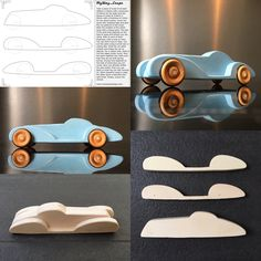 Diy Toys Car, Wooden Toy Trucks, Wood Carving Designs, Scroll Saw Patterns, Wood Toys, Classic Toys, Woodworking Shop, Baby Toys, Wood Crafts
