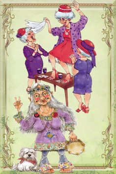 old ladies dancing - Google Search