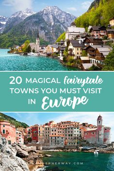 Add these magical fairytale towns in Europe to your bucket list ASAP! Packing For Europe, Road Trip Europe, Places In Europe, Backpacking Europe, Europe Travel Guide, Best Places To Travel, Travel Destinations, 2 Week Europe Itinerary, Europe Europe