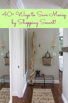 40+ Ways to Save Money by Shopping Smart | Apartment Therapy @Apartment Therapy