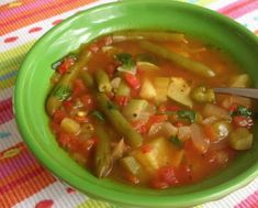 Soup - Vegetable - Weight Watchers Zero Point