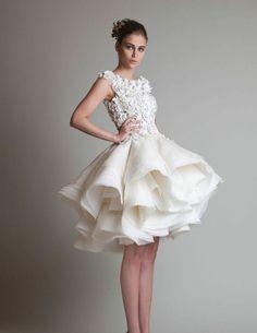 Kurze Hochzeitskleider - Zeigen Sie Beine!