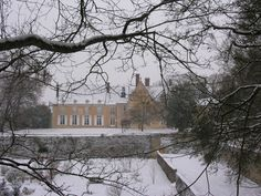Stay in a lovely little French chateau in the snow? Sit by the fireside and enjoy a good glass of wine?
