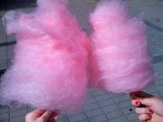 Pink cotton candy, a favorite.