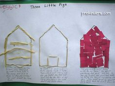 Three Little Pigs ideas from PreKinders