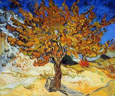 Vincent Van Gogh - Post Impressionism - Saint REMY - Le Mûrier - 1889