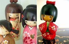 Resultado de imagen para muñecas japonesas