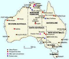 Uranium mining in Australia