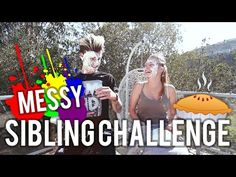 Messy Sibling Challenge - YouTube