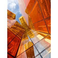 Red Orange and Yellow in Architecture - Ericsson Kista, Stockholm by Mattias Hamrén Colour Architecture, Amazing Architecture, Contemporary Architecture, Architecture Details, Interior Architecture, Orange Aesthetic, Amazing Buildings, Art Moderne, Art Furniture