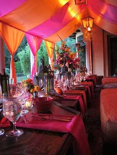 Moroccan style Anniversary Party
