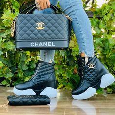 Cute Sneakers, Shoes Sneakers, Ny Dress, Africa Dress, Lit Shoes, Floral Shoes, Luxury Bags, Chanel Boy Bag, Saint Laurent