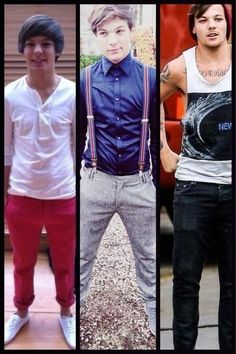 The evolution of the one and only Louis. I personally like the middle one the best.... -H