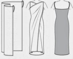 Moldes Moda por Medida: DETALHES DE MODELAÇÃO - 18
