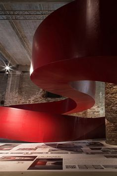Aequilibrium Suspended Walkway by C+S architects | Yellowtrace