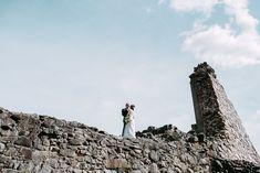 Bridal style, elegant bohemian wedding style, bride and brides maid on a walk, Wedding Photographer Finland, destination wedding