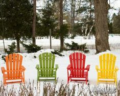 Colorful winter view in @Door County.  Click to make this your desktop image. @Travel Wisconsin
