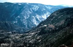 Tuolumne Canyon and Piute Creek, Yosemite National Park