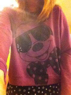Mickey sweater can't wait to wear it!!