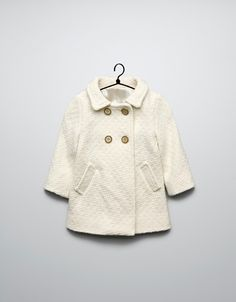 STRUCTURED COAT - Coats - Baby girl (3-36 months) - Kids - ZARA United States