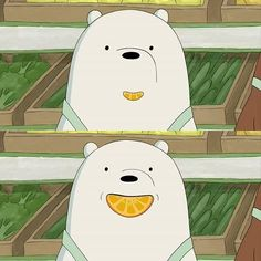 """35.2k Likes, 958 Comments - We Bare Bears (@webarebears.official) on Instagram: """"Comment """"❄️"""" if Ice Bear is your favorite bear ❤️"""""""