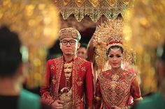 Traditional Minang and Palembang Wedding -