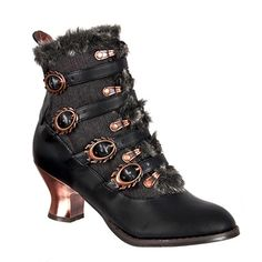 Victorian Steampunk Boots @ SinisterSoles.com