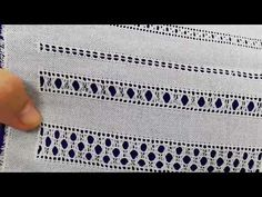 Ляхівка однорядова та багаторядова Hardanger Embroidery, Lace Embroidery, Embroidery Stitches, Embroidery Patterns, Drawn Thread, Thread Work, Chain Stitch, Cross Stitch, Plastic Canvas Stitches