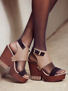 Charles David Adelaide Clog at Free People Clothing Boutique
