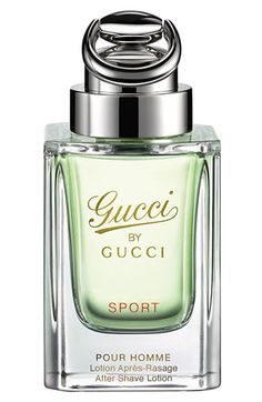 Gucci By Gucci Pour Homme 'Sport' A clean fragrance with citrus base warm climate cologne.