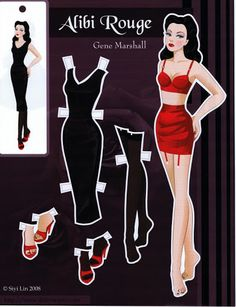 Gene Marshall Paper Doll - Yakira Chandrani - Picasa Web Albums