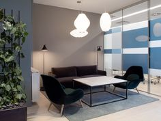 Interior design by Sistem Interior Architects. Office Interior Design, Office Interiors, Interior Architects, Lounge Areas, Conference Room, Table, Projects, Furniture, Home Decor