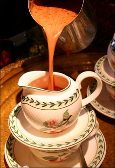 """The rain is coming down in buckets and I am wishing I could enjoy a Chocolate Chaud -- """"Noir-Orange"""" (from Café Balzac in #Morges, #Switzerland. Sinful and Delightful!"""