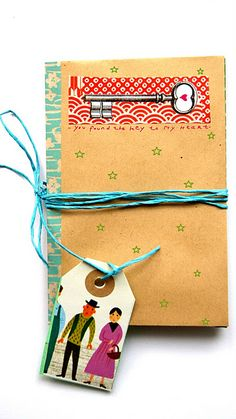 How to make a litle personalised book for a present