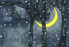 S. Georgeff | Winter Moon, 12 August.2010