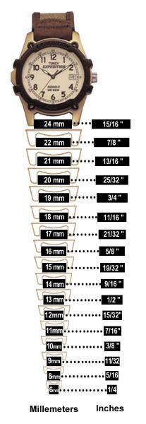 Ремешок для часов схема