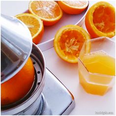 Un buen zumo de naranja natural y empezamos este estupendo día vía el blog de landoigelo.com