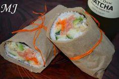 Japanische Rezepte | japanisch kochen | Sushi Wrap, Asian Recipes, Ethnic Recipes, Bento Box, Fresh Rolls, Food And Drink, Wraps, Japanese, Blog