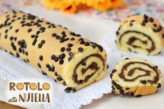 Il rotolo soffice alla nutella è una ricetta veramente facile da preparare e perfetta per ogni occasione, è... Nutella Rolls, Nutella Fudge, Nutella Cheesecake, Nutella Cookies, Mug Dessert Recipes, Baking Recipes, Cookie Recipes, Desserts, Tupperware