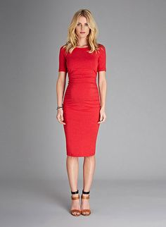 Ruched Maternity T Shirt Dress | Maternity Dresses | Isabella Oliver Maternity