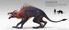 Dominic_Qwek_Creature_Character_Art_Carnitaur_Profile