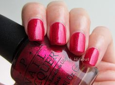 Perfect for holiday season. You only live twice by OPI.