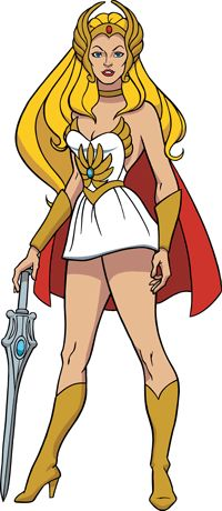 "{She-ra}  Does anyone else remember She-ra?  I guess as a girl with three brothers I watched a lot of Masters of the Universe!  Anyhow, ""Simplify with She-ra?"""
