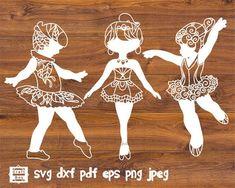 Little ballerina svg ballerina svg ballerinas clipart Stencil Material, Craft Cutter, Little Ballerina, Decorate Notebook, Vector File, Paper Cutting, Cricut Design, Stencils, Clip Art