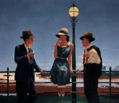 Jack Vettriano - The Game Of Life - Limited Edition Print