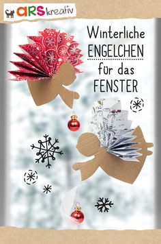 Kinderbücher, Geschenke, Kalender und Inspirationen aus dem Verlag arsEdition f… Children's books, gifts, calendars and inspirations from the publishing house arsEdition for the big and small moments in life. Christmas Time, Christmas Crafts, Xmas, Christmas Ornaments, Holiday, Winter Crafts For Kids, Diy For Kids, Easy Toddler Crafts, Diy And Crafts